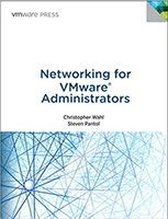 Networking for VMWare Administrators cover