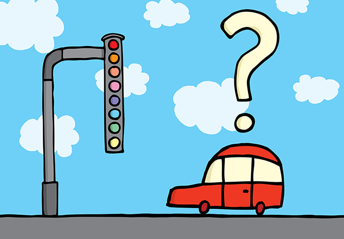 confusing traffic light - network protocols and standatds