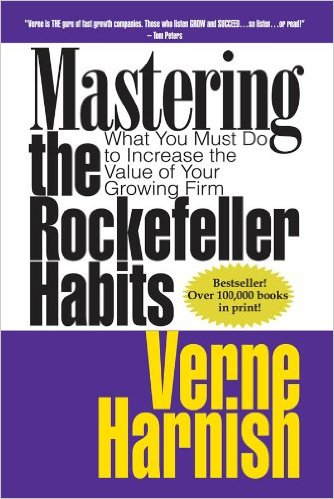 Mastering the Rockefeller Habits book cover