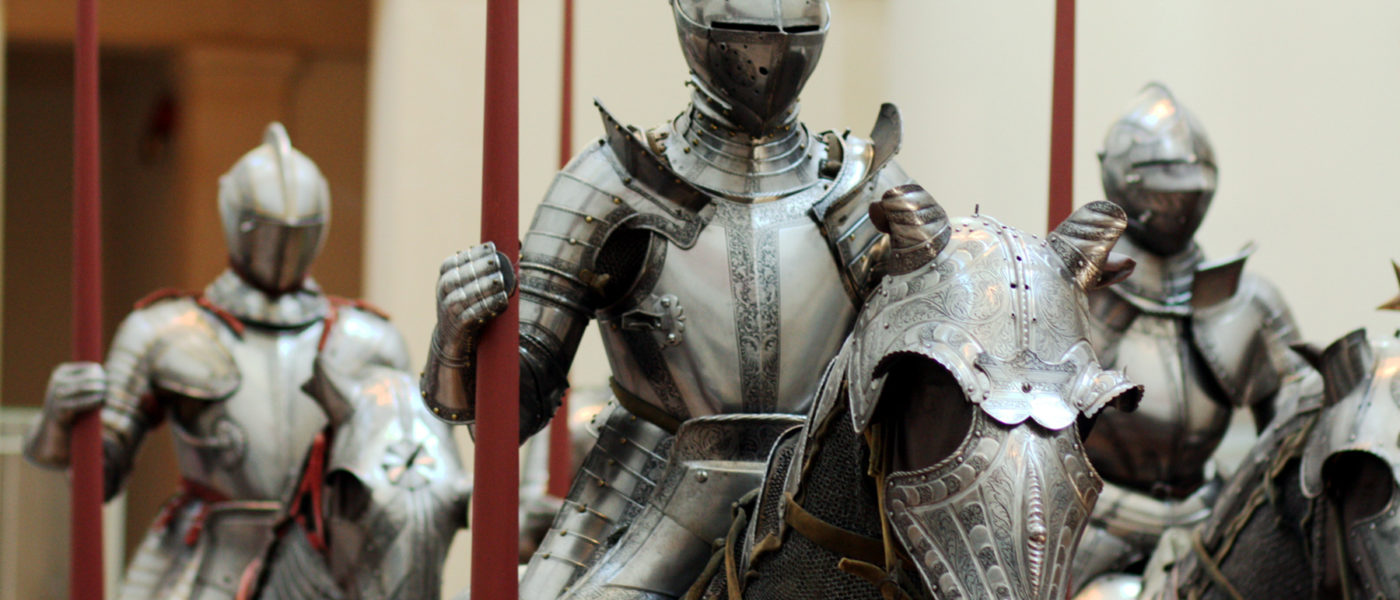 network infrastructure security defense armored knights