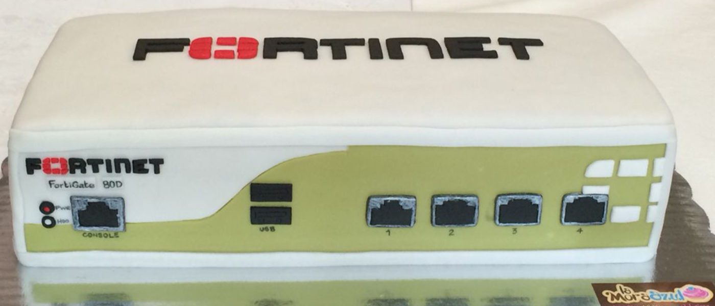 Fortinet Fortigate firewall cake network cakes