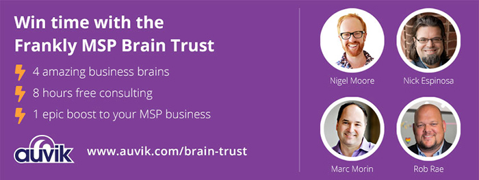 Frankly MSP Brain trust sweepstakes