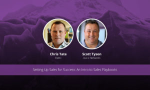 [image] Setting Up Sales for Success: An Intro to Sales Playbooks – Webinar (On Demand)