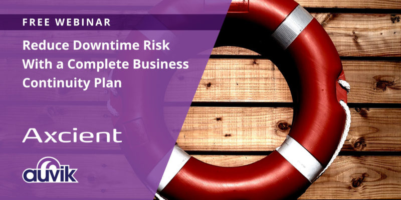 [image] Reduce Downtime Risk With a Complete Business Continuity Plan – Webinar (On Demand)