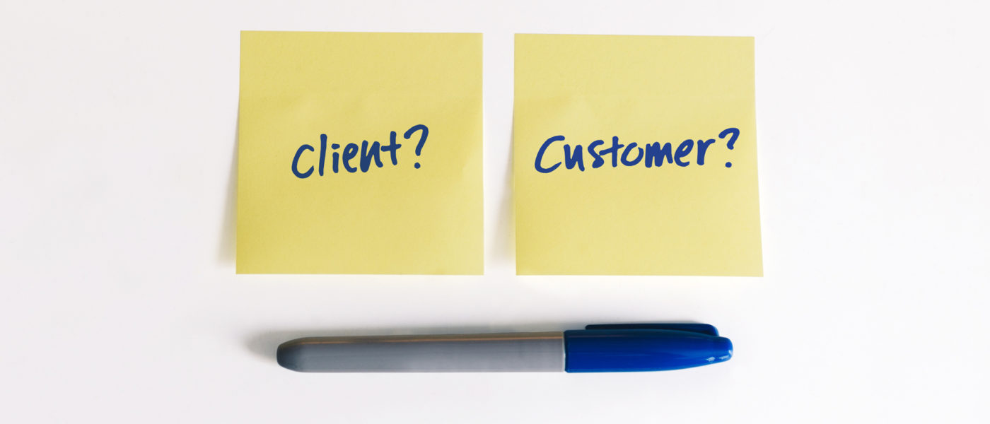 sticky notes client or customer MSP profession commodity