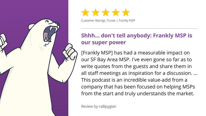 Frankly MSP podcast review