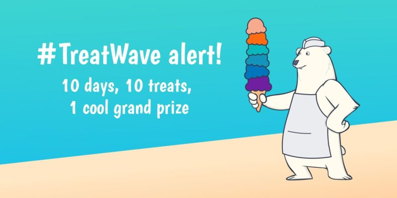 [image] The #TreatWave Is Back for Another Summer of Sweet Scoops