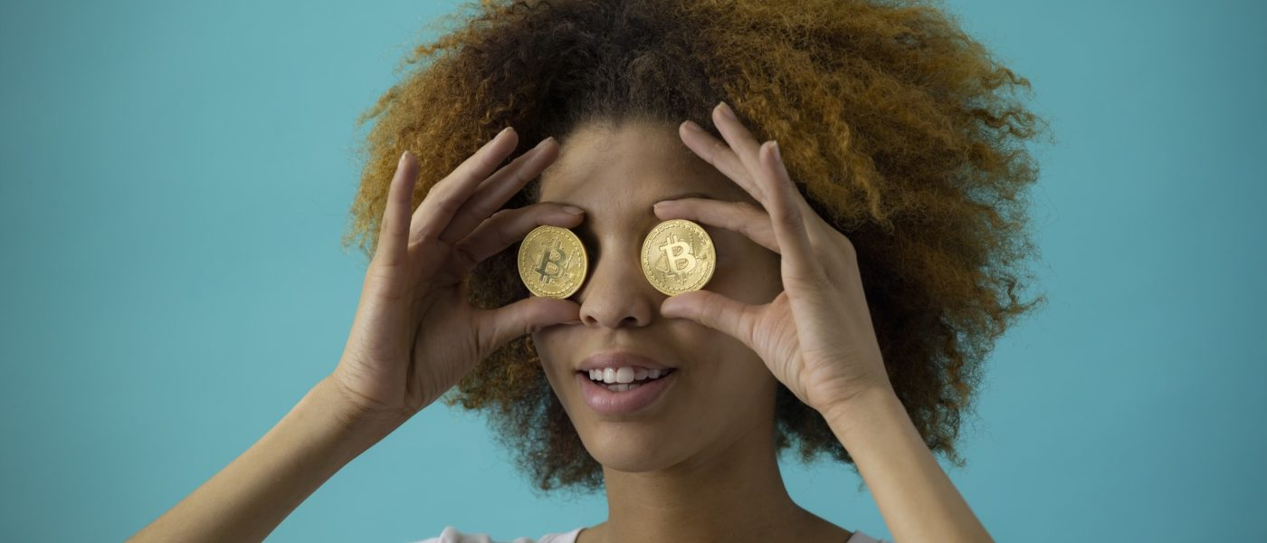 make money Microsoft Azure woman holding coins