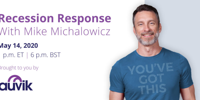 [image] Recession Response Webinar – With Mike Michalowicz (On Demand)
