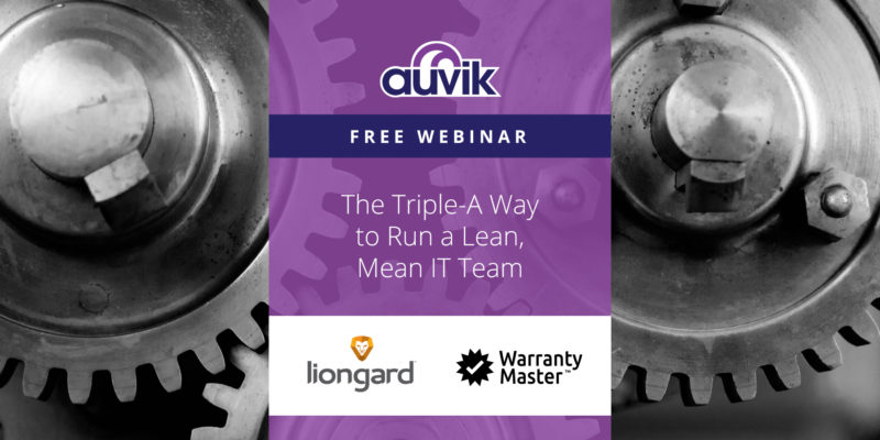 [image] The Triple-A Way to Run a Lean, Mean IT Team (On Demand)
