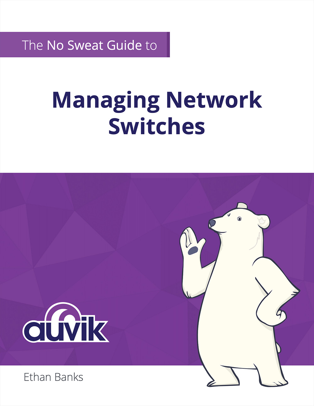Ebook cover - Managing Network Switches