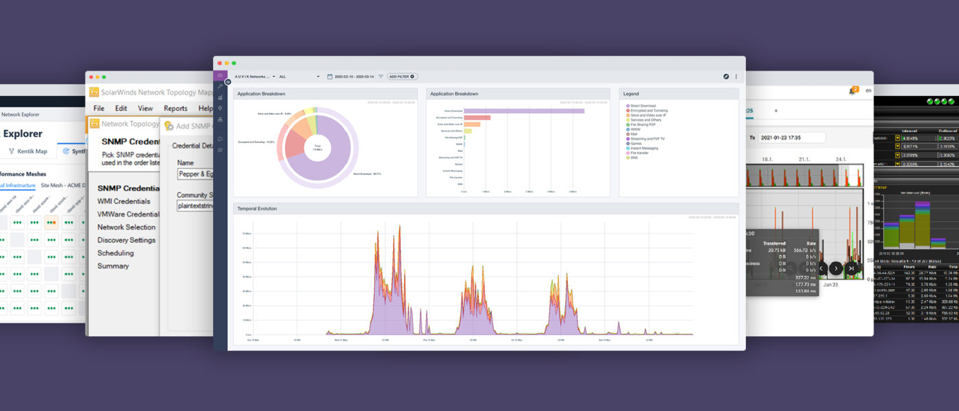 network traffic monitor software options
