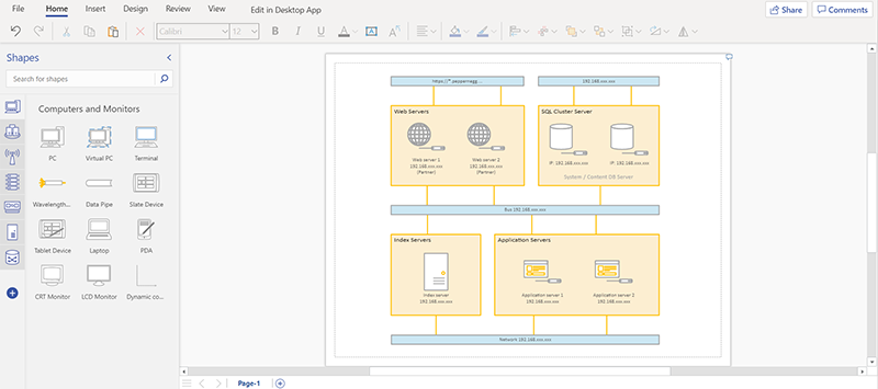 network-infrastructure-mapping-visio