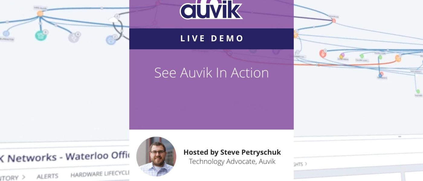 Live Demo - See Auvik in Action